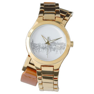 Annapolis Maryland Skyline SG-Safari Buff Watch