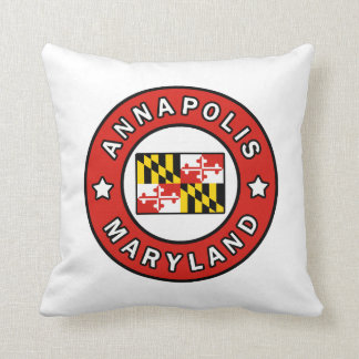 Annapolis Maryland Throw Pillow