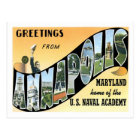 Annapolis Maryland Travel America US City Postcard