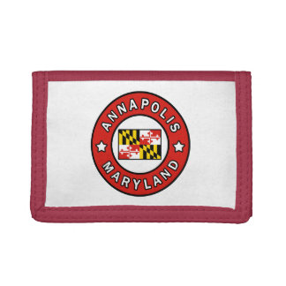 Annapolis Maryland Trifold Wallet
