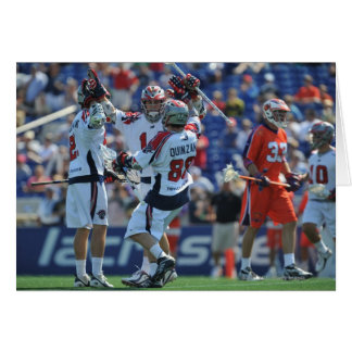 ANNAPOLIS, MD - AUGUST 28:  The Boston Cannons 4 Card