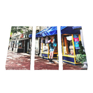 Annapolis MD - Opening For Business Canvas Print