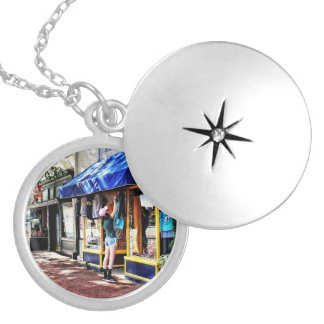 Annapolis MD - Opening For Business Locket Necklace