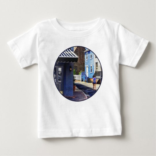 Annapolis MD - Strolling Along Pinkney Street Baby T-Shirt