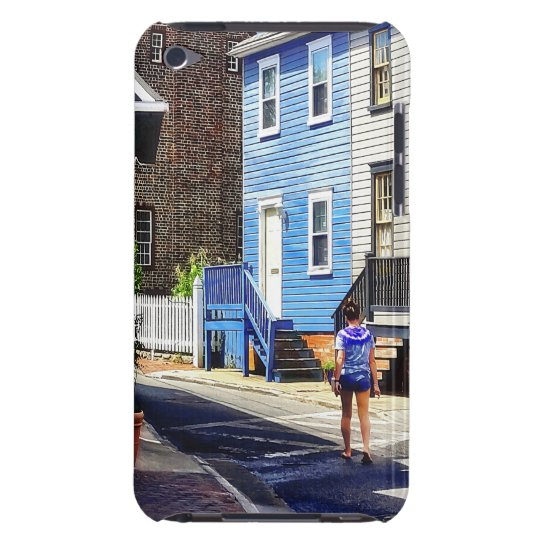 Annapolis MD - Strolling Along Pinkney Street Barely There iPod Case