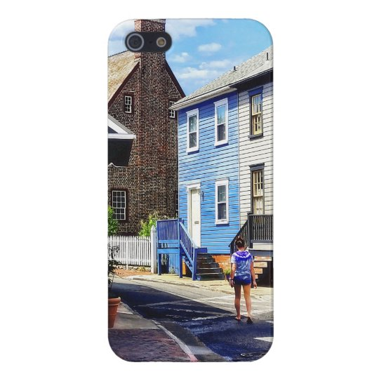 Annapolis MD - Strolling Along Pinkney Street Cover For iPhone 5/5S