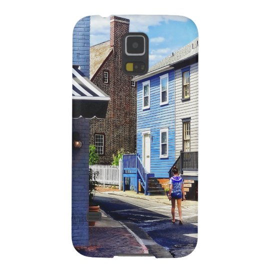 Annapolis MD - Strolling Along Pinkney Street Galaxy S5 Cover