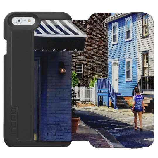 Annapolis MD - Strolling Along Pinkney Street Incipio Watson™ iPhone 6 Wallet Case