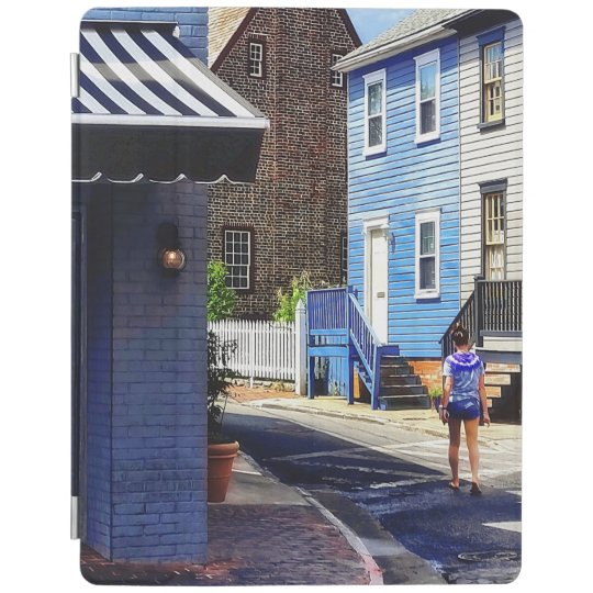 Annapolis MD - Strolling Along Pinkney Street iPad Cover