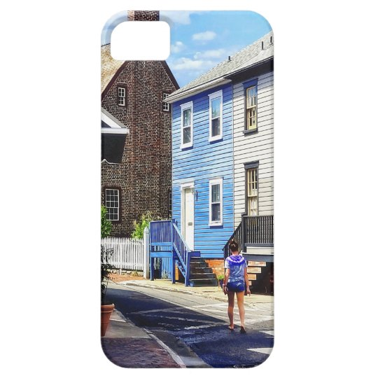 Annapolis MD - Strolling Along Pinkney Street iPhone 5 Case