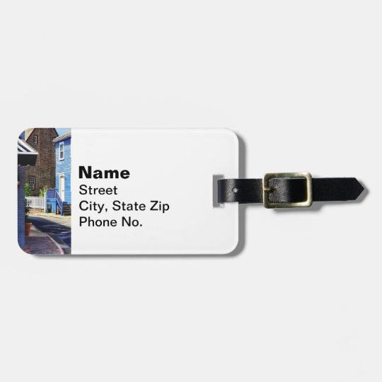 Annapolis MD - Strolling Along Pinkney Street Luggage Tag