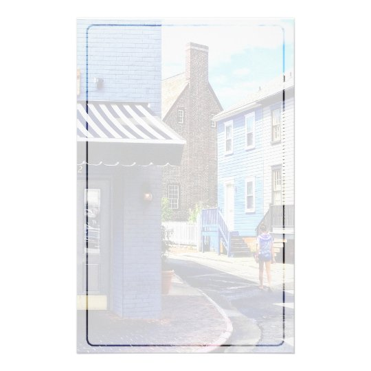 Annapolis MD - Strolling Along Pinkney Street Stationery