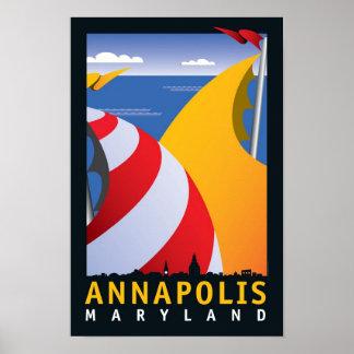 Annapolis, Sails Poster