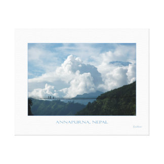 ANNAPURNA IN THE CLOUD COAT CANVAS PRINT
