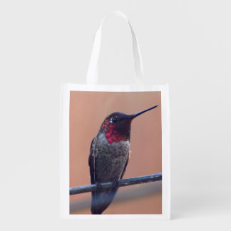Anna's Hummingbird grocery tote bag Market Tote