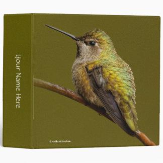 Anna's Hummingbird on the Scarlet Trumpetvine Binders