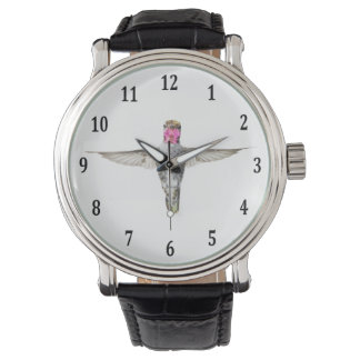 Anna's Hummingbird Wrist Watches