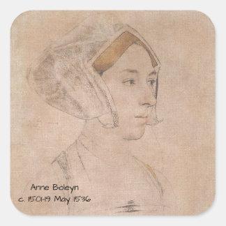 Anne_Boleyn-2 Square Sticker