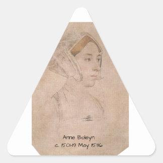 Anne_Boleyn-2 Triangle Sticker