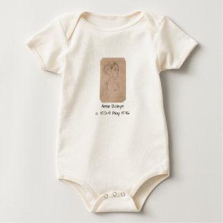 Anne Boleyn Baby Bodysuit