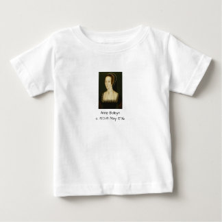 Anne Boleyn Baby T-Shirt