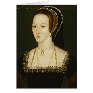 Anne Boleyn - Blank Greeting Card