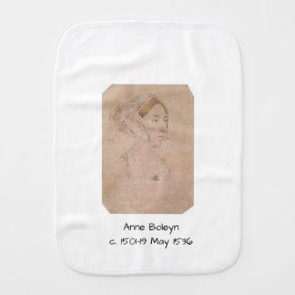 Anne Boleyn Burp Cloth
