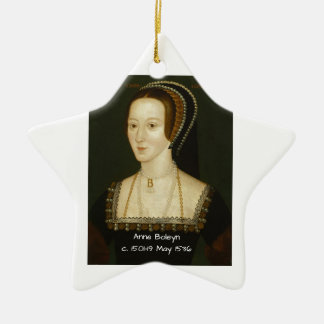 Anne Boleyn Ceramic Ornament