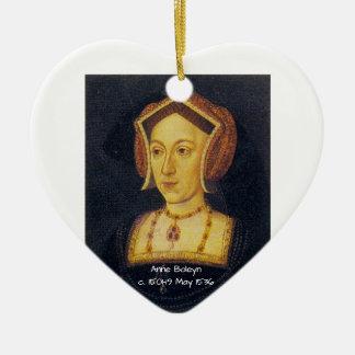 Anne Boleyn Ceramic Ornament
