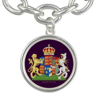 Anne Boleyn Coat of Arms Charm Bracelet