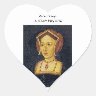 Anne Boleyn Heart Sticker