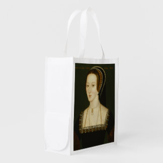 Anne Boleyn / Henry VIII Portraits Reusable Grocery Bag