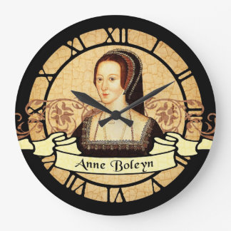 Anne Boleyn Large Clock