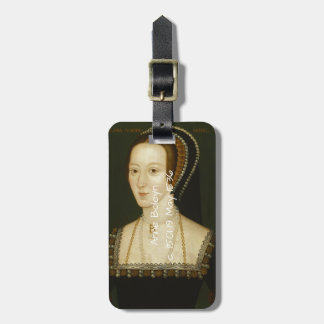 Anne Boleyn Luggage Tag