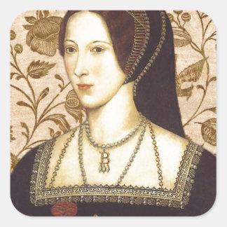 Anne Boleyn Square Sticker