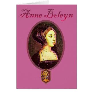 Anne Boleyn - Woman Blank Card