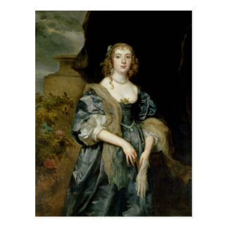 Anne Carr, Countess of Bedford, c.1638 Postcard