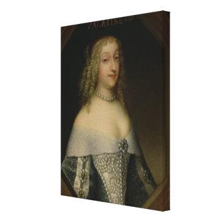 Anne de Gonzaga princesse Palatine Toile Tendue