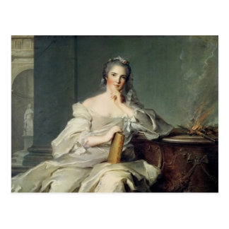 Anne-Henriette de France, as the element of Postcard