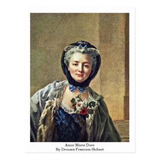 Anne-Marie Dore By Drouais Francois-Hubert Postcard