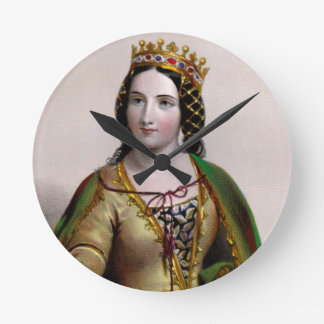 Anne Neville Wall Clock