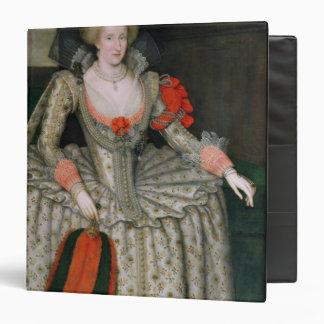 Anne of Denmark, c.1605-10 3 Ring Binder
