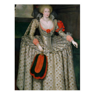 Anne of Denmark, c.1605-10 Postcard