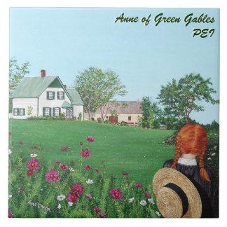Anne of Green Gables Large Ceramic Photo Tile