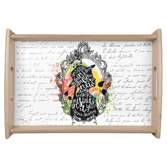 Anne of Green Gables tray Service Trays
