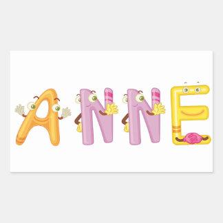 Anne Sticker