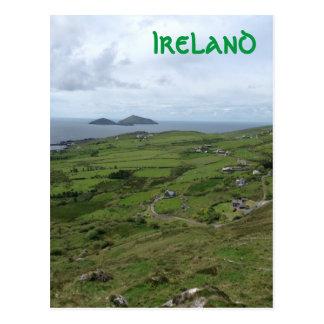 Anneau de position d'océan irlandaise de Kerry Carte Postale
