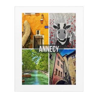 Annecy Acrylic Acrylic Print