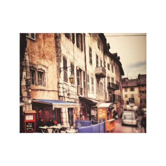 Annecy, French Alps Canvas Print