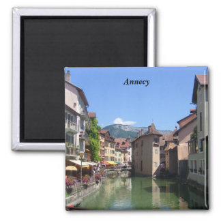 Annecy - square magnet